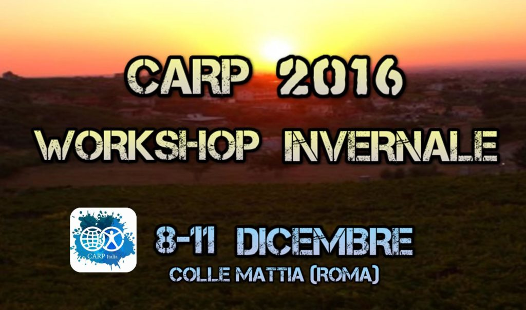 Carp workshop invernale 2016